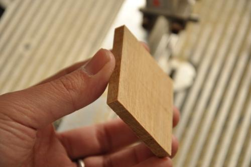 必要なサイズに加工した木材