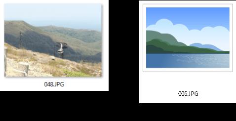 視覚効果によるフォントの違い