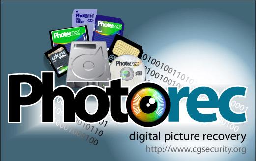 Photorecを使ってデータを復元する方法を紹介